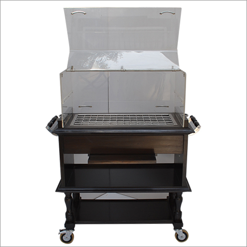 Hotel Refrigerated Pastry Trolley