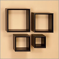 Restaurant Wooden Wall Cubes