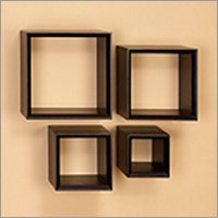 Wooden Wall Cubes