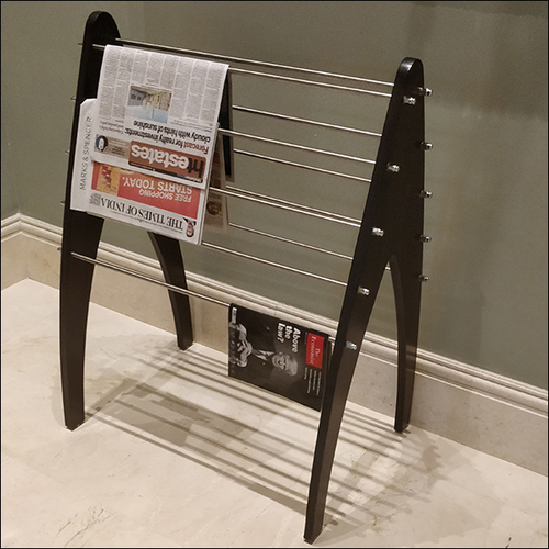 Restaurant Wooden Newspaper Stand