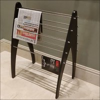 Wooden Newspaper Stand