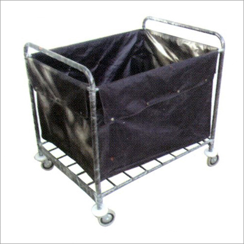 Restaurant Soil Linen Dump Trolley