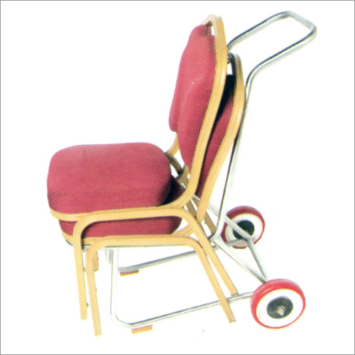 SS Chair Trolley