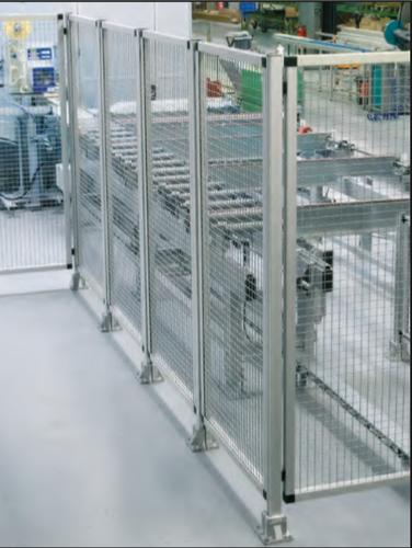 Aluminium profile Machine Fencing Safety Guard
