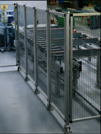 Aluminium profile Machine Fencing Safety Guard