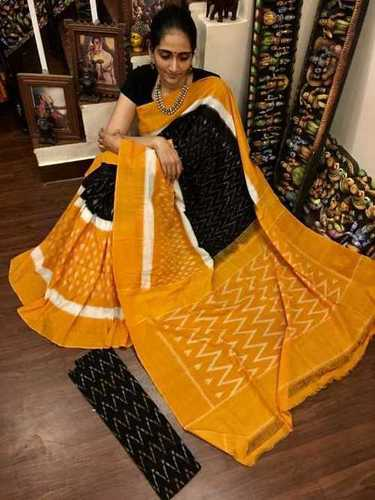 Cotton Hand Made Mulmul Sarees