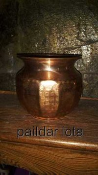 Traditional Copper Lota