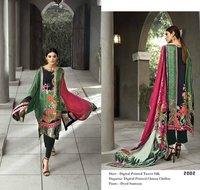 Printed Silk Suits