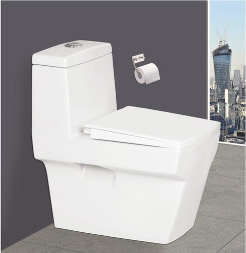 Elongated One Piece Toilet