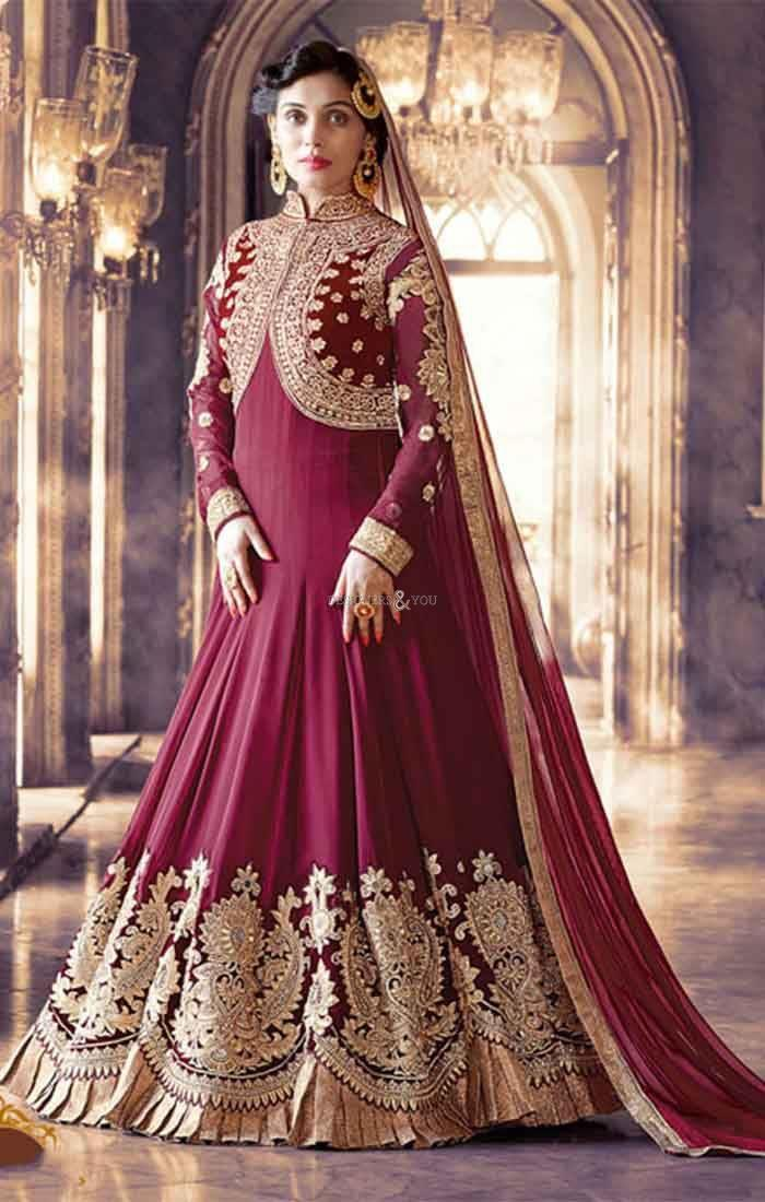 Ladies Anarkali Georgette Suit