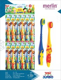 Jini & jumbo kids toothbrush