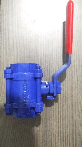 Cast steel ball valve