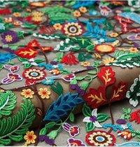 Latest Embroidery Design Fabric
