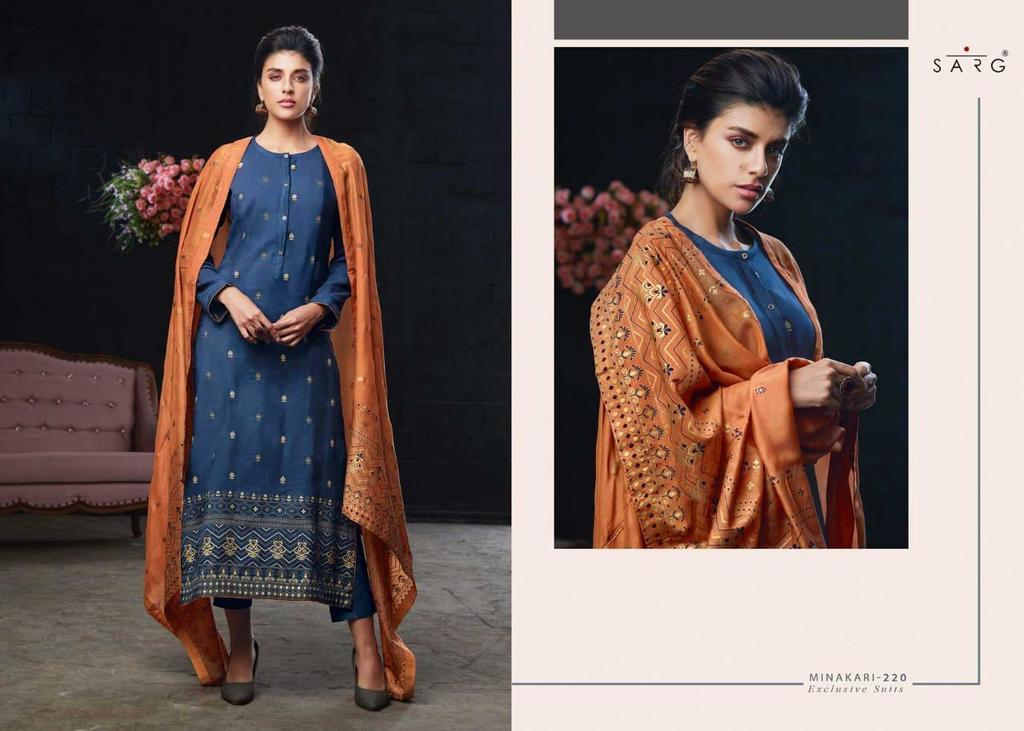 Fancy Print Salwar Suits