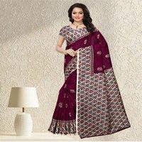 Fancy Mysore Silk Printed Saree