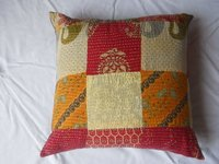 ETHNIC HANDMADE KANTHA Pillow Cover 16