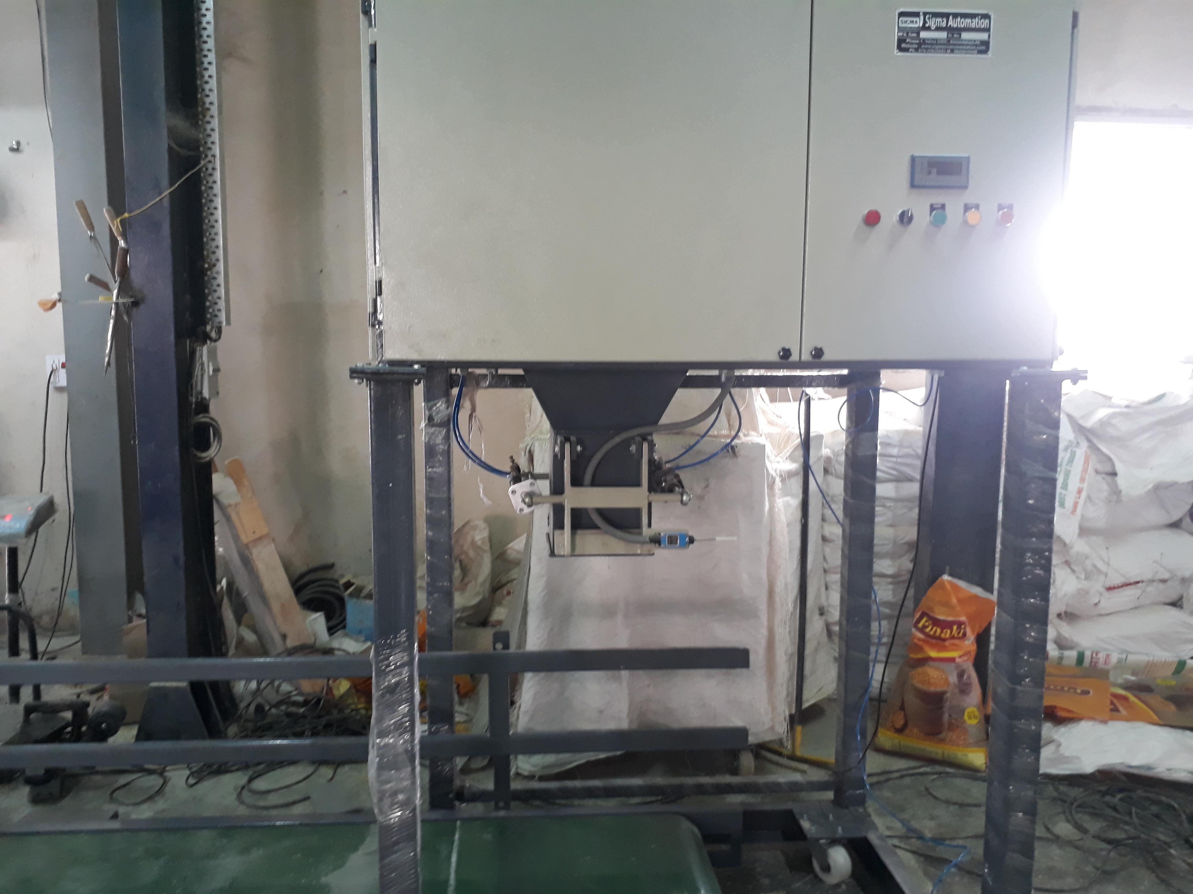 Semi Automatic Bag Filling Machine