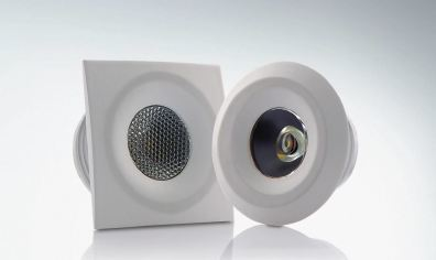 LED Cabinet Light Round Square