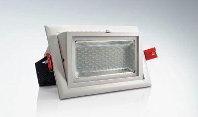 LED Downligh Swivel Rectangular