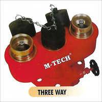 Three Way Collecting Head