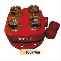 Four Way Collecting Head
