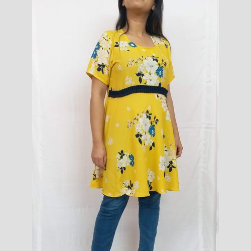 Digital print short kurti