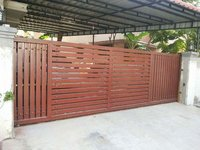 Motorized Sliding Gate with Photo sensor
