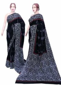 Cotton Printed Mulmul Sarees