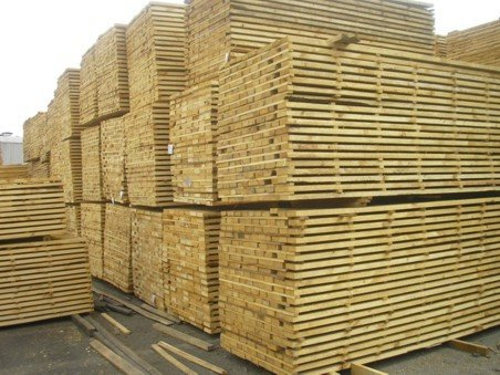 Brown Pine Wood Lumber