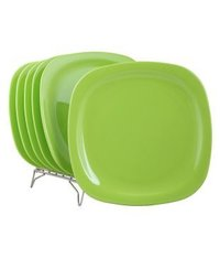 Deluxe Squar Buffet Plate