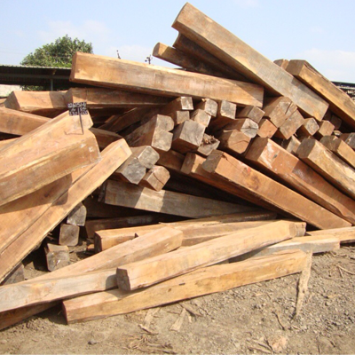 Sudan Teak Blocks