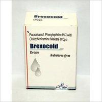 paracetamol, phenylephrine HCL with chlorpheniramine maleate drops