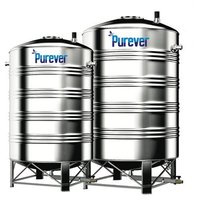 2500 Litre Stainless Steel Water Storage Tank