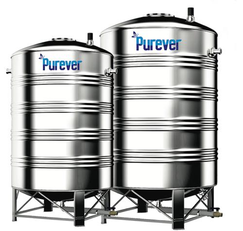 4000 Litre Stainless Steel Water Storage Tanks