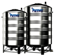 10000 Litre Stainless Steel Water Storage Tanks