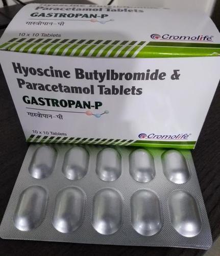 hyoscine butylbromide & paracetamol tablet