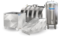 Insulated Stainless Steel Water Storage Tanks