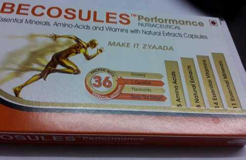 amino acids vitamin capsules