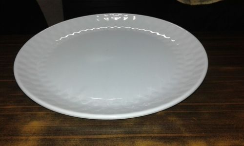 Waves Round Buffet Plate