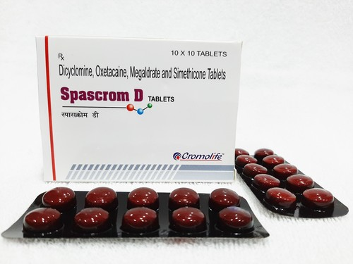 DICYCLOMINE, OXETACAINE, MAGALDRATE AND SIMETHICONE TABLET
