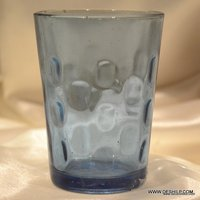 SMALL GLASS DECOR TUMBLER
