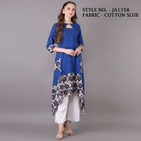 Ladies Designer Cotton kurtis