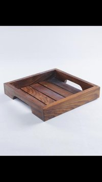 Wooden Serving Tray PU Finish