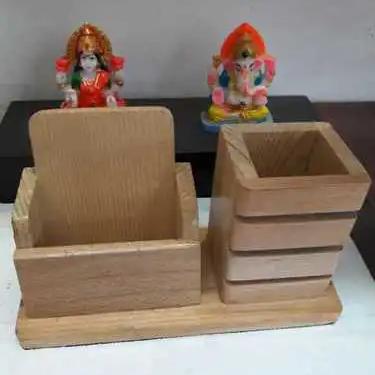 Wooden Desk Organiser