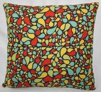 Multicolor Hearts Cushion Cover