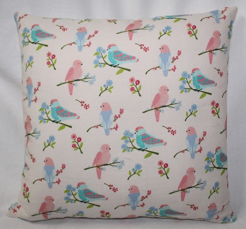 Birds Printed Cushion Cover