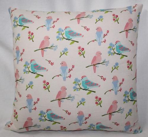 Birds Printed Cushion Cover