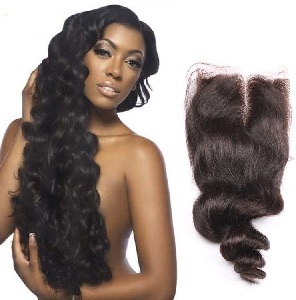 Clip Virgin Indian Hair Extensions