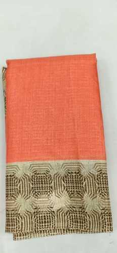 Orange Fancy sarees