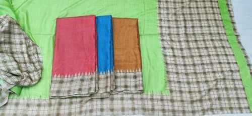 Colour Cotton Sarees